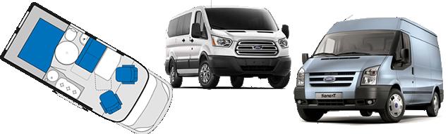 Transit Van Conversions